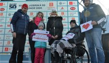 The Jizerská 50 Race helps! The racers and other donors contributed over CZK 200,000