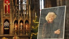 Holy mass for Olga Havel